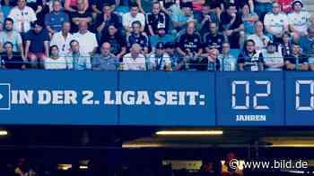 HSV: BILD schenkt dem Hamburger SV eine Zweitliga-Uhr - BILD