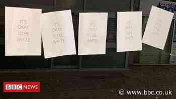 Nailsea 'It's okay to be white' posters investigated
