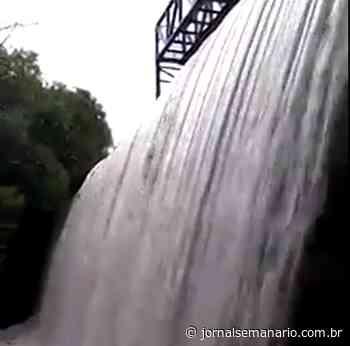 Fortes chuvas elevam nível de barragem em Garibaldi - jornalsemanario.com.br