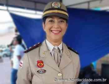 Feira de Santana terá a primeira mulher no comando de uma Companhia da Polícia Militar - Acorda Cidade