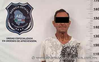 Detiene AEI a un presunto homicida en la ciudad de Delicias - El Heraldo de Chihuahua