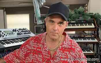 Robbie Williams Writing Songs With Take That's Gary Barlow - AceShowbiz Media