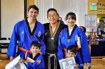Madhuri Dixit-Nene, taekwondo and an 'amazing family experience' - Mid-Day