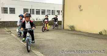 Une semaine vélo à l'école Sainte-Anne - Le Télégramme