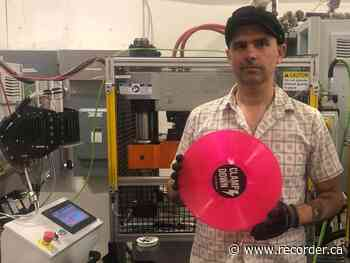 Clampdown Record Pressing Inc. pitches Tinder for bands - Brockville Recorder and Times