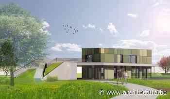 Avontuurlijk groen speelpark met polyvalent gebouw in Tessenderlo (Q-BUS architectenbureau) - architectura.be