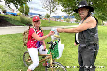 Lumby man gives back for Canada Day - Vernon Morning Star