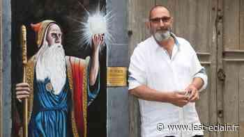 Piero Cavalleri enchante le quartier Saint-Rémy à Troyes avec de nouvelles fresques - L'Est Eclair