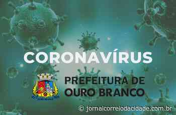 Ouro Branco confirma novo caso de coronavírus e chega a 73 positivos   Correio Online - Jornal Correio da Cidade