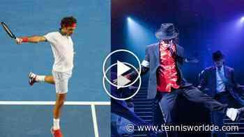 """Roger Federer hat Michael Jackson im Blut: """"Ich verdanke meine Beinarbeit M.J."""" - Tennis World DE"""