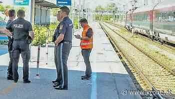Bombenalarm am Bahnhof in Freilassing ausgelöst - Krone.at