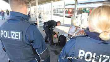 Freilassing: Zugverkehr beeinträchtigt - Verdächtige Kiste am Bahnhof löst Großeinsatz aus - innsalzach24.de