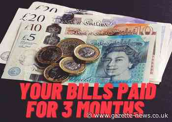 You could get your bills paid for 3 months courtesy of the Gazette