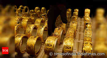 Retail gold prices go past Rs 50k/10gm mark - Times of India