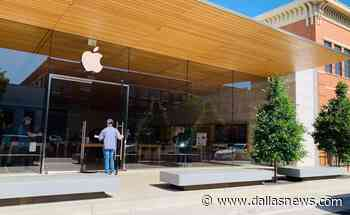 Apple closes its five North Texas retail stores for a second time - The Dallas Morning News