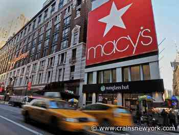 Macy's takes $3.1B charge as pandemic stymies retail - Crain's New York Business