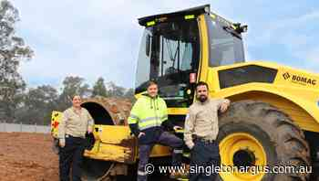 Singleton's new state-of-the-art animal management facility, with construction well underway on the $1.415 million project - The Singleton Argus