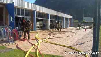 Tarascon-sur-Ariège : la piscine inutilisable depuis l'incendie de ce matin - LaDepeche.fr