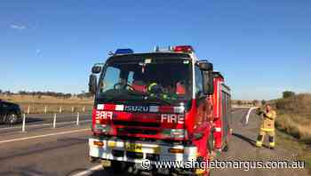 Singleton Fire & Rescue and Hunter Valley police responded to reports of a truck fire at Whittingham - The Singleton Argus