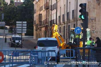 El Ayuntamiento inicia las obras de saneamiento en la calle San Pablo para evitar inundaciones - Salamanca 24 Horas