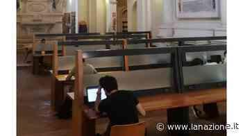 Chiostro di S. Francesco riaperto agli studenti dopo la 'Sala Rosa' - La Nazione