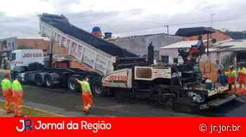 Novo Horizonte: Rua 8 recebe camada de asfalto   JORNAL DA REGIÃO - JORNAL DA REGIÃO - JUNDIAÍ
