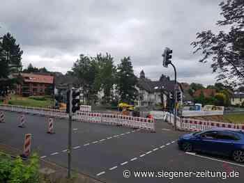 Stählerwiese Kreuztal: Kreisel plus Zebrastreifen - Siegen - Siegener Zeitung