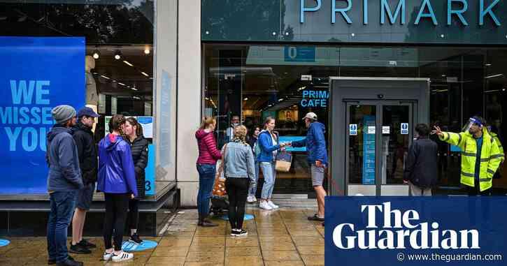 Primark loses £800m in Covid-19 lockdowns