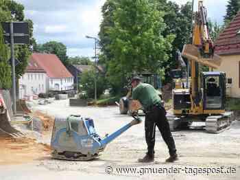 Die Großbaustelle in Alfdorf zieht bald weiter - Gmünder Tagespost