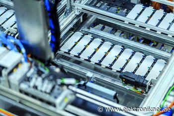 Batteriesysteme von Mercedes-Benz: Batteriefertigung in Kamenz wächst - elektroniknet.de