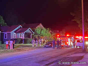 Overnight fire leaves one hurt