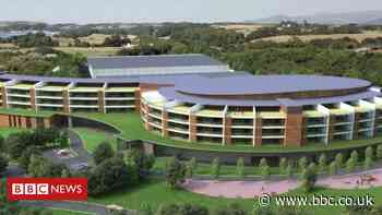 Caernarfon £60m water park plan for old factory site
