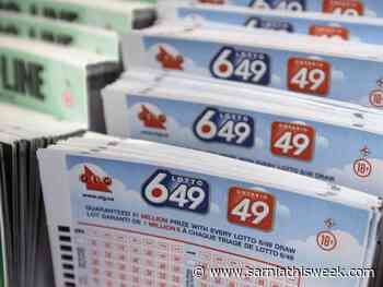 Winning Lotto 6-49 ticket sold in Lambton County - Sarnia and Lambton County This Week