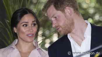 Royals: Meghans Verkündung ließ Prinz Harry fassungslos zurück - watson