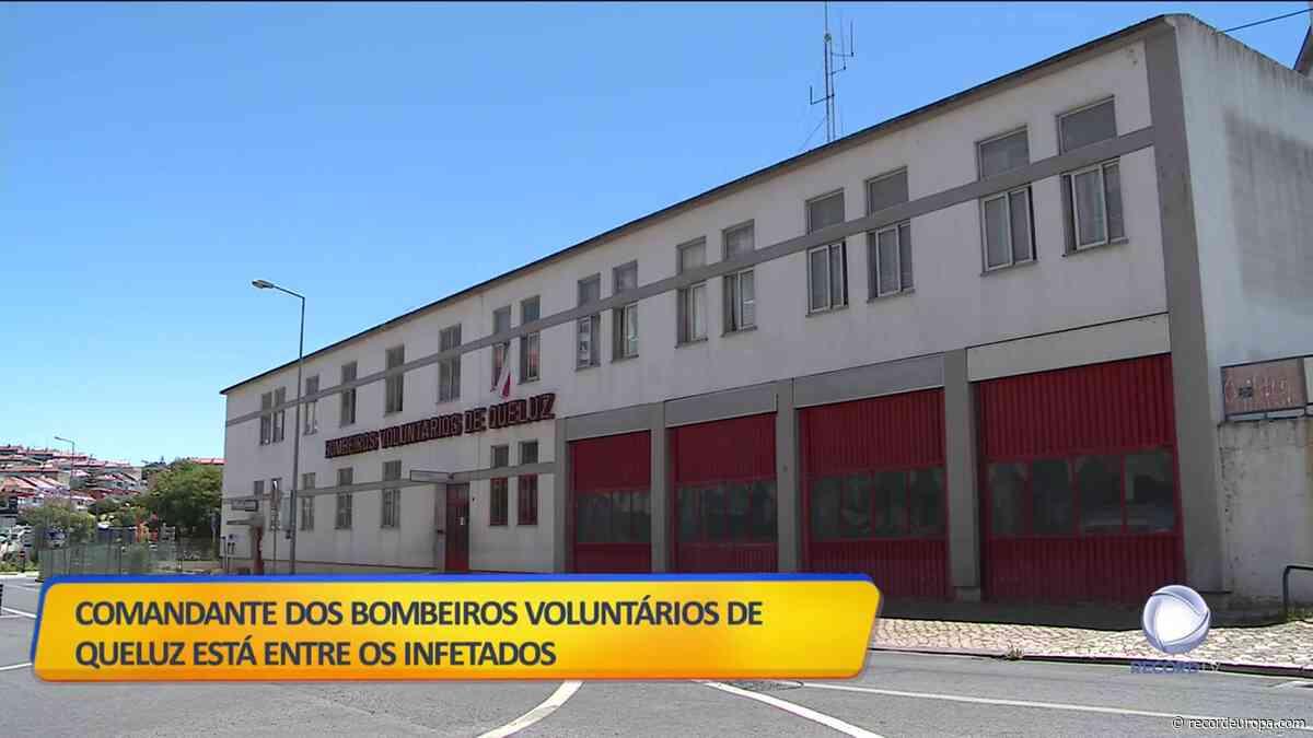 Portugal no Ar - 14 bombeiros infetados em Queluz - Record TV Europa