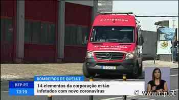Covid-19. Bombeiros de Queluz tem 14 infetados - RTP