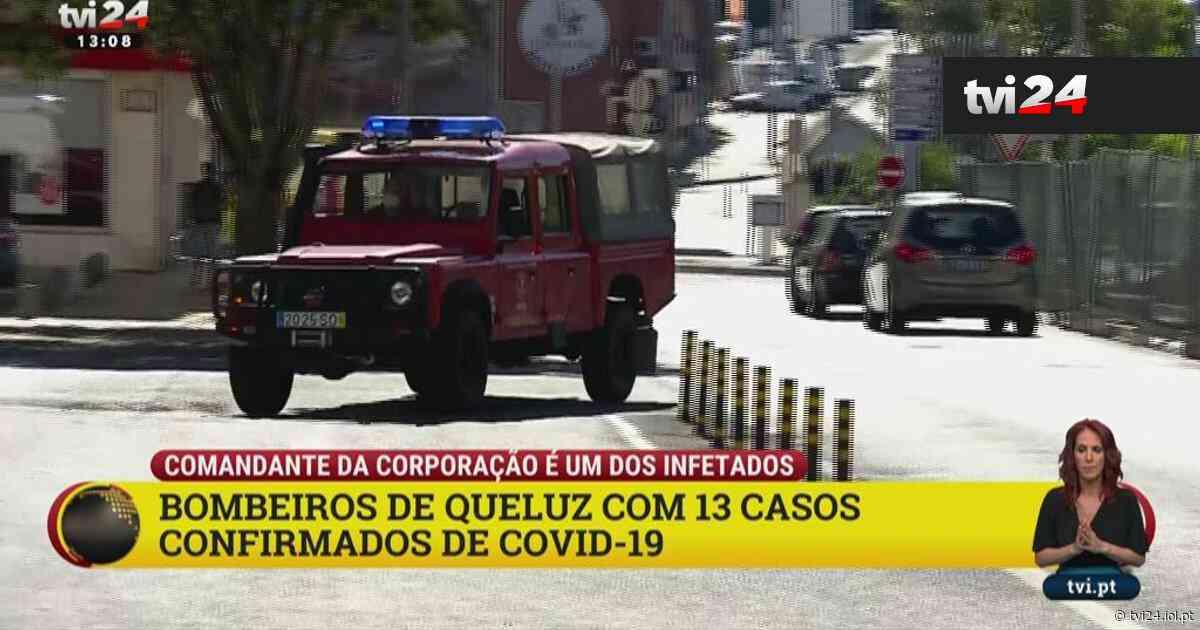Covid-19 nos Bombeiros de Queluz: comandante é um dos 13 infetados - TVI24