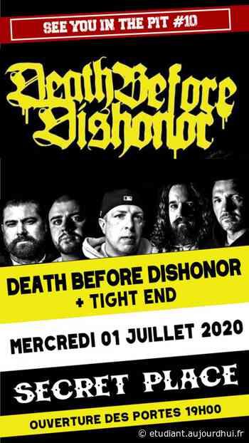 DEATH BEFORE DISHONOR - Secret Place , Saint Jean De Vedas, 34430 - Sortir à France - Le Parisien Etudiant