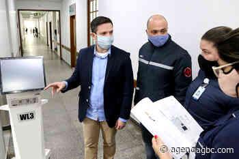 Governo do Estado manda seis respiradores para hospital de Esteio - Agência GBC