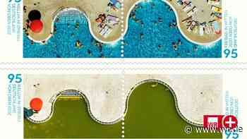 Witten-Briefmarke: Schönes Original und Corona-Realität - WR