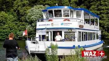 Ruhr: Saisonstart der MS Schwalbe in Witten fällt ins Wasser - WAZ News