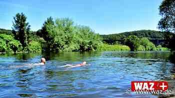 Naturfreibad Witten: Immer mehr Badegäste zieht es zu Ruhr - Westdeutsche Allgemeine Zeitung