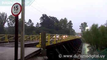 El río Yí bajó y el Puente Viejo permite paso - duraznodigital.uy