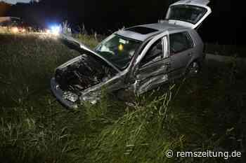 Unfall auf der B 29 bei Essingen - Rems-Zeitung