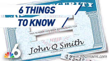 6 Things to Know – Keeping Your Social Security Number Private in Pandemic, New Look for Miami-Dade Schools