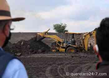 SEDEA rehabilita bordos en Ezequiel Montes y Cadereyta de Montes - Querétaro 24-7