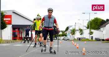 Trebur: Rollskifahren auf dem Parkplatz - Echo Online