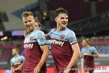 West Ham showed fans we care with comeback win against Chelsea, says Declan Rice