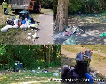 'Unprecedented' amount of litter in Barnet parks