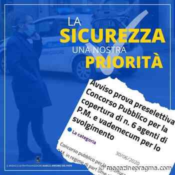 Frattamaggiore, il concorso per la polizia locale - Magazine Pragma - Magazine Pragma